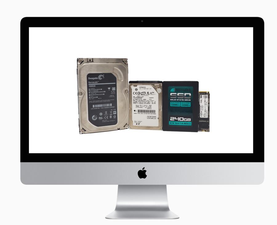 iMac With Hard drive