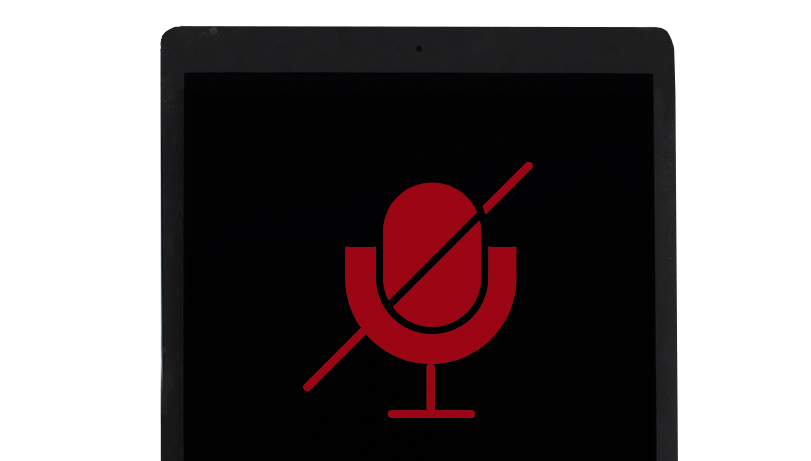 Ipad Microphone not working