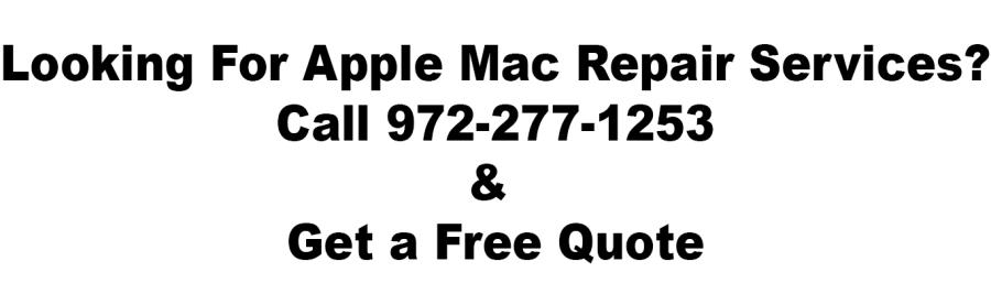 looking for apple mac repair