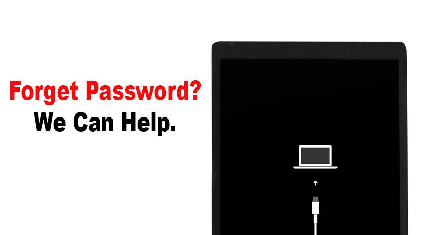 Password forget iPad