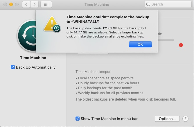 backup-disk-do-not-has-enough-space-error